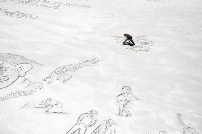 plage-sable-dessin-dessinateur